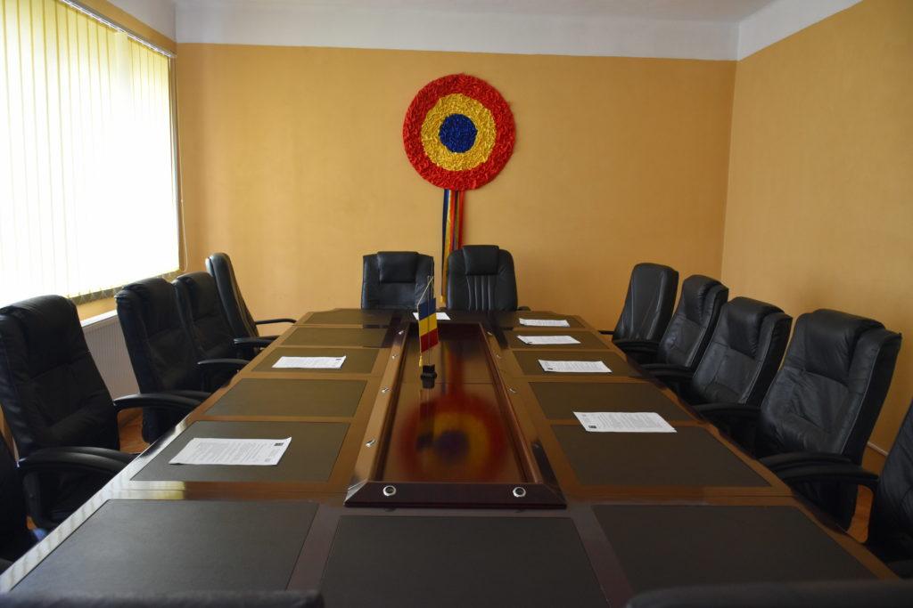 Sala Consiliu Local comuna Avram Iancu