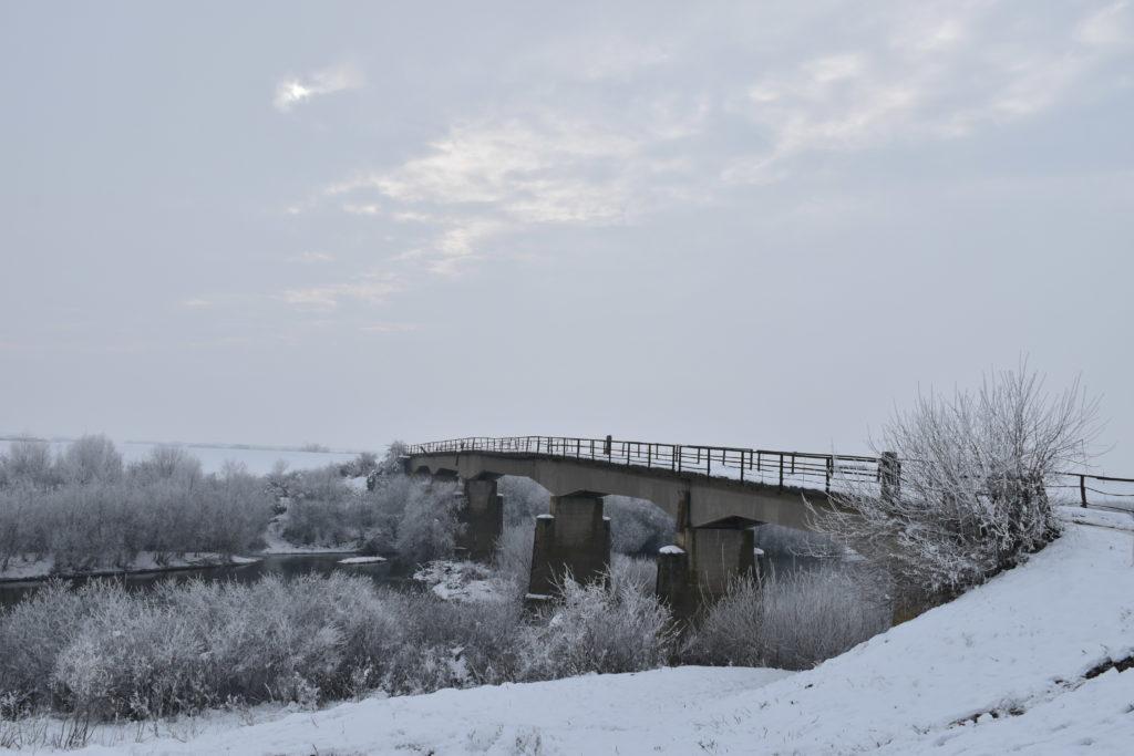 Pod Tămașda Vale înghețată